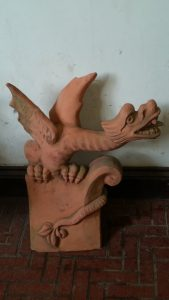 Old Dragon Finial