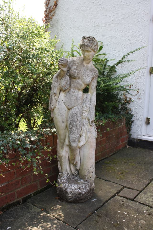 Garden Ornament - Stone Lady