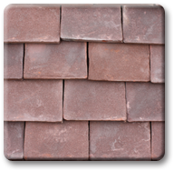 handmade-autumn brown roofing tile