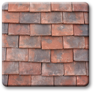 Handmade Wentworth roof tile