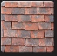 Handmade Wentworth roof tile
