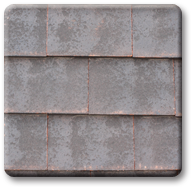 Imerys weathered machine made clay rood tile