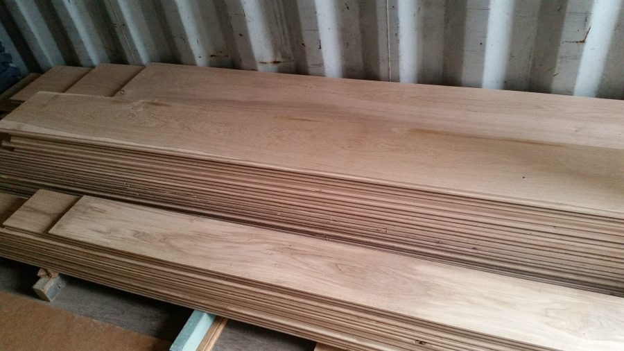 Oak flooring